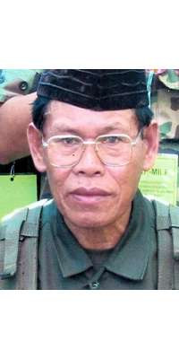 Ameril Umbra Kato, Philippine warlord, dies at age 68