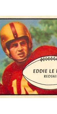 Eddie LeBaron, American football player (Washington Redskins, dies at age 85