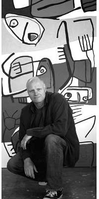 Paul du Toit, South African artist., dies at age 48