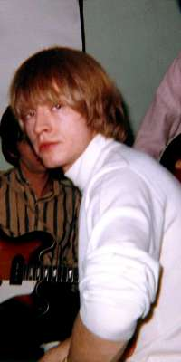 Brian Jones, Founder and original bandleader of the Rolling Stones. Multi-instrumentalist, with his main instruments being the guitar, harmonica and keyboards. His innovative use of traditional or folk instruments, such as the sitar and marimba, was integral to the changing sound of the band., dies at age 27