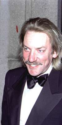 Donald Sutherland, Actor, alive at age 79