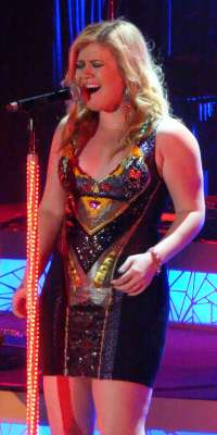 Kelly Clarkson, Singer, alive at age 33