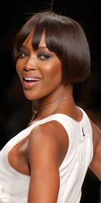 Naomi Campbell, Model, actress, singer, author, alive at age 45