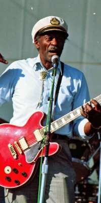 Chuck Berry, American rock and roll musician (