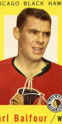 Earl Balfour, Canadian ice hockey player (Chicago Blackhawks, dies at age 85