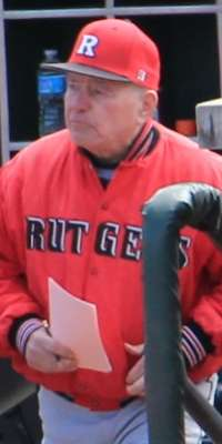 Fred Hill, American baseball coach (Rutgers University)., dies at age 84