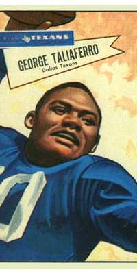 George Taliaferro, American football player (New York Yanks, dies at age 91