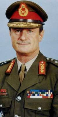 Johannes Geldenhuys, South African military commander who served as Chief of the South African Defence Force between 1985 and 1990, dies at age 83