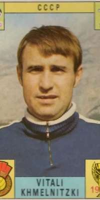 Vitaliy Khmelnytskyi, Ukrainian football player and manager., dies at age 75